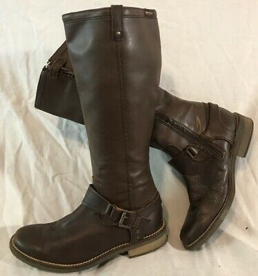 £20 • Buy Girls Garvalin Brown Leather Lovely Boots Size 34 (399Q)