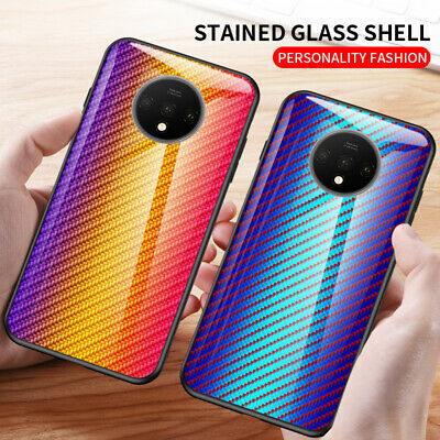 AU6.69 • Buy For OnePlus 7T 7 Pro 6T 6 5T 5 Tempered Glass Hard Back Soft Bumper Case Cover