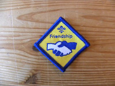 £1 • Buy UK Scouting Beaver Scout Discontinued Challenge Award (Friendship)