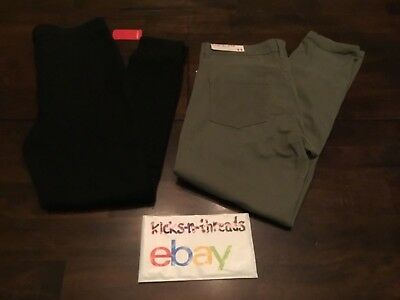 $15.99 • Buy Womens Skinny Fit Pants Forever 21 Size 31 & Freestyle Revolution Olive Size 11