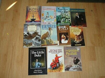 $14.99 • Buy Historical Fiction & Classic Literature Chapter Books For Kids Lot