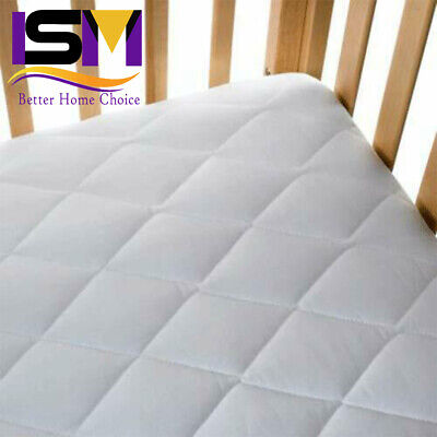 £36.49 • Buy Baby Cot Bed Junior Toddler Mattress Quilted Removable Cover 160 X 70 X 10 Cm