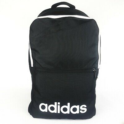 AU43.95 • Buy ADIDAS  LINEAR CLASSIC Backpack BLACK School  Travel Sports Gym Bag AU Stock !