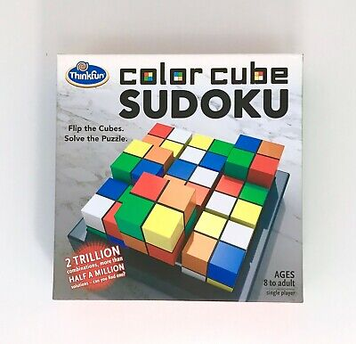 ThinkFun COLOR CUBE SUDOKU - FLIP THE CUBES, SOLVE THE PUZZLE It's FUN • 6.19£