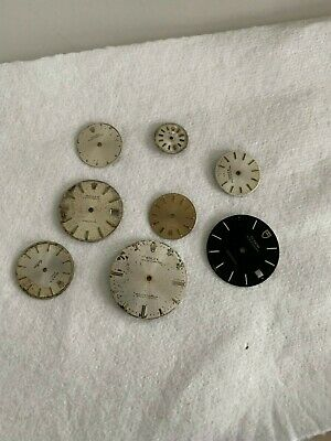 $ CDN858.71 • Buy Lot Of Rolex And Tudor Dials For Vintage Watch Parts