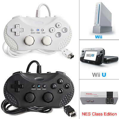 $ CDN29.11 • Buy Wired Classic Pro Game Remote Controller Joypad For Nintendo Wii & Wii U US Ship