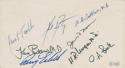 $1250 • Buy Neil Armstrong - Cover Signed - Dated Day Of Gemini 3 Launch - RR Auction COA