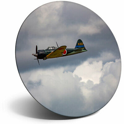 AU7.11 • Buy Awesome Fridge Magnet - Mitsubishi A6M3 Zero Vintage Plane Cool Gift #21891