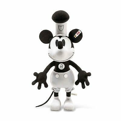$798 • Buy NEW Steiff Disney Mickey Mouse 90th Anniversary Steamboat Willie From Japan F/S