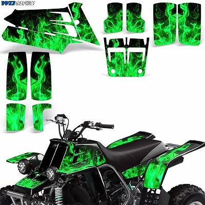 AU132.07 • Buy Decal Graphic Kit Yamaha Banshee 350 ATV Quad Decal Wrap Parts Deco 87-05 ICE G