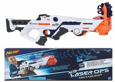AU95 • Buy Nerf Laser Ops Delta Burst Fire Combat Blaster Ages 8+ Toy Gun Fight Play Gift