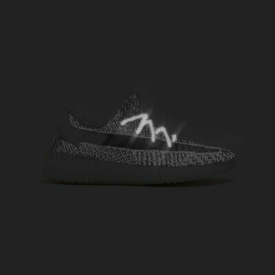 £3.95 • Buy A Pair Of 3M Reflective Sneaker Shoe Laces Rope For Adidas Yeezy 350 500 700 V2