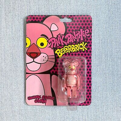 $210 • Buy Pink Panther Bearbrick Medicom 2009 Universal Studios Japan Rare New