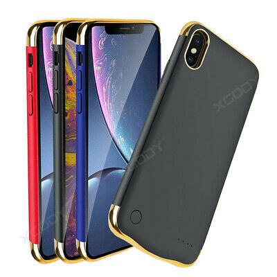 £20.99 • Buy For IPhone X/XS/XR/XS MAX 12 6000mAh Battery Case External Charging Power Cover