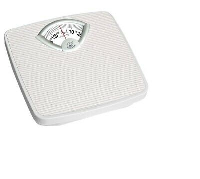 Accurate Mechanical Dial Bathroom Scales Weighing Scale Body Weight WHITE • 14.99£