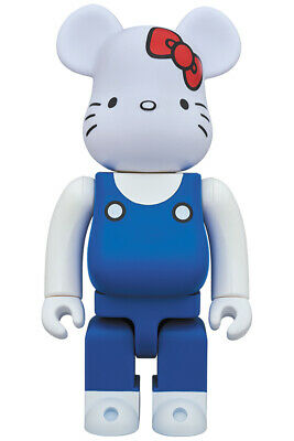$823.98 • Buy NEW Medicom Toy BE@RBRICK HELLO KITTY Generation 70s 1000% Figure From Japan