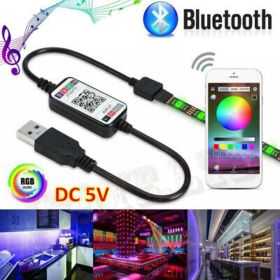 $8.36 • Buy 3/5M 5050 RGB Waterproof LED Strip Light SMD Kit Bluetooth WiFi Phone Controll