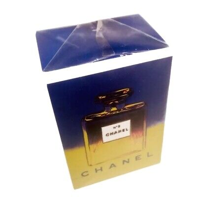 $130 • Buy 90s CHANEL No 5 Parfum ANDY WARHOL Limited Edition .25 Oz Perfume New Sealed