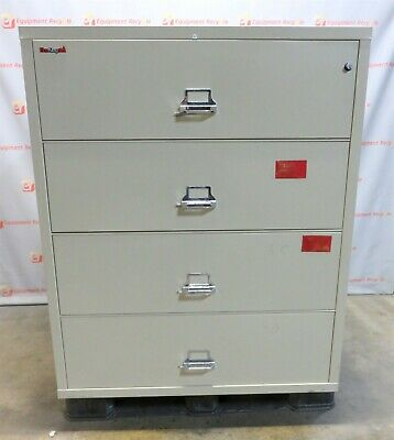 Fireking Lateral Locking Fireproof File Cabinet 159-1999 1Hr Key 44x22x53 • 1,250$
