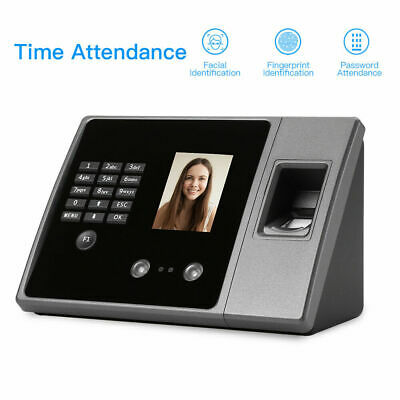 Biometric Office Facial / Fingerprint Clocking In System Time Recorder Work USB • 74.50£