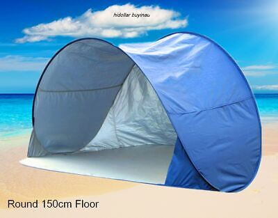AU29.95 • Buy Instant Self Pop Up Picnic Dome Tent Beach Popup Tent Sun Shade Silver Coat