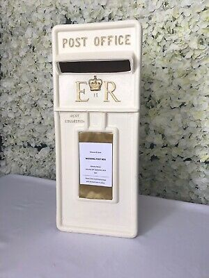 £35 • Buy White Wedding Post Box For Hire Only