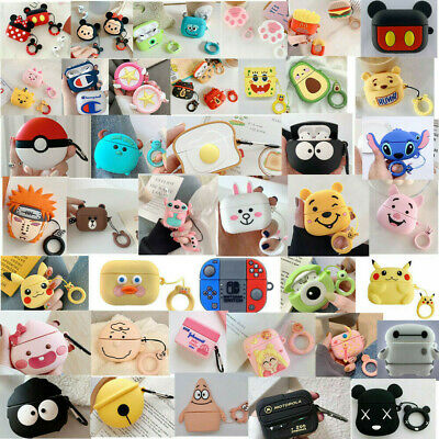 $ CDN8.43 • Buy For Apple Airpods Pro 3 Charging Case Cute Disney Minnie Cartoon Silicone Covers