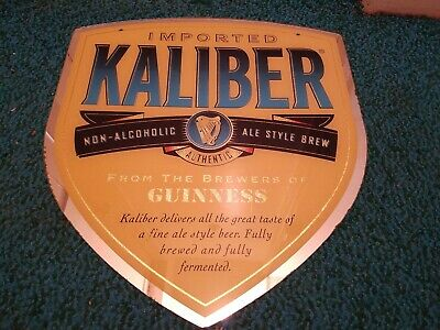 £32.36 • Buy Guinness Made-Kaliber Mirrored Sign
