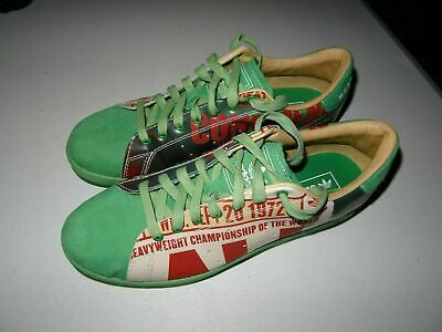 $99.95 • Buy RARE 2007 Green Adidas Muhammad Ali Collection Confidence Size 12 Sneakers