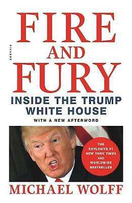 AU32.99 • Buy Fire And Fury: Inside The Trump White House By Michael Wolff (English) Paperback