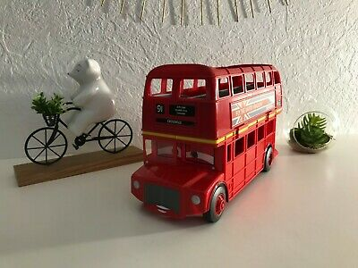 $ CDN38.57 • Buy 👿 Jouet Véhicule Cars Autobus Londres Double Decker Bus Disney Mattel