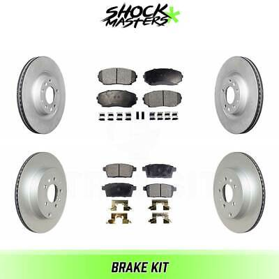 $181.20 • Buy Front & Rear Ceramic Brake Pad & Coated Rotor Kit For 2007-2015 Mazda CX-9