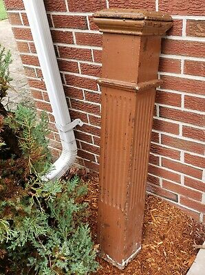 $139 • Buy 1900's Wooden NEWEL POST Column Stairway Post Baluster Architectural Salvage