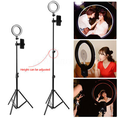 AU29.99 • Buy Dimmable LED Ring Light Adjustable 160cm Tripod Stand For Studio Video Make Up