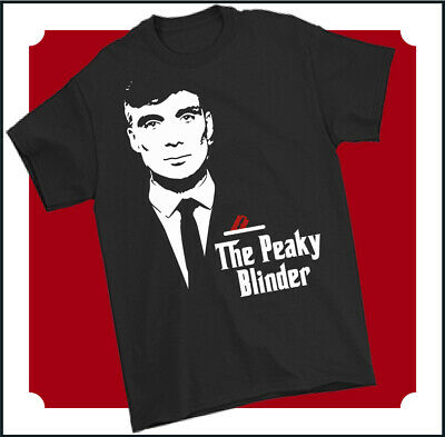THE PEAKY BLINDER T-SHIRT Mens Funny Godfather Shelby Bros Unisex Tee Top Parody • 9.49£