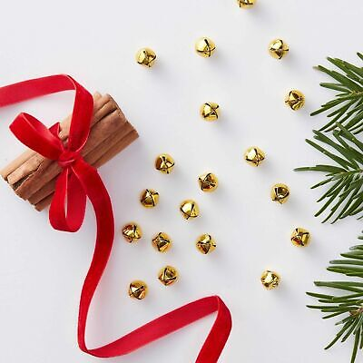 Gold MINI BELL TABLE CONFETTI Scatter Christmas Xmas Decoration Party Approx 50 • 4.95£