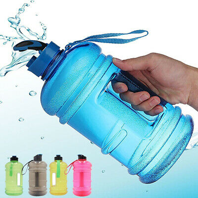 AU11.46 • Buy Gym  Training  Kitchen Tool Water Bottle Picnic Kettle Drinkware Big Cup Jug