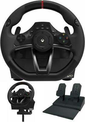 Xbox One Steering Wheel Overdrive And Pedal Set Racing Gaming Driving Simulator • 142.99$