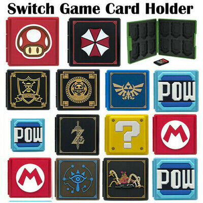 Nintendo Switch Game Card Case Holder Storage Box Travel Carry Protector Cover • 9.99$