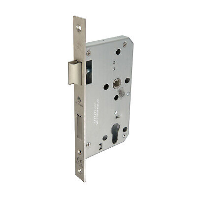 Mortice Sash Lock Euro Lock Case 60mm With Satin Stainless Steel Finish • 8.95£