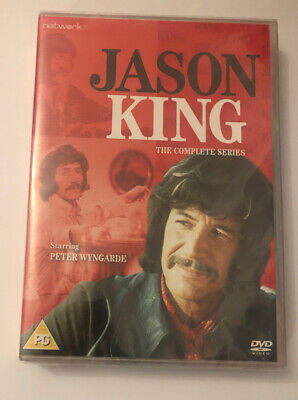 Jason King The Complete Series Box Set DVD New 2019 Region 2 Sealed • 22.80£