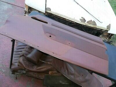 $159.99 • Buy  1972-1980 Mercedes 350  450 SL Right Passenger Door Panel TOBACCO BROWN