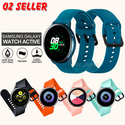 AU6.95 • Buy For Samsung Galaxy Watch Active 2 Replacement Silicone Sport Wrist Band Strap