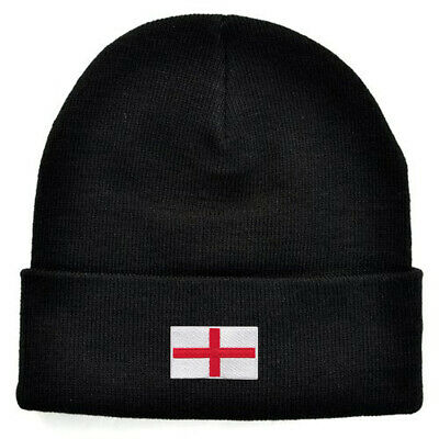 £10 • Buy England Embroidered Knitted Beanie Ski Hat