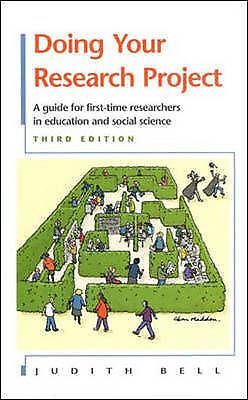 £6 • Buy Doing Your Research Project By Bell, Judith