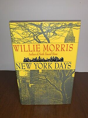 $25 • Buy New York Days By Willie Morris Signed