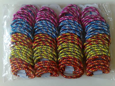 £3.99 • Buy  60 Cards Of Elastic Hair Bobbles/hair Bands In Mixed Colours==> L@@k