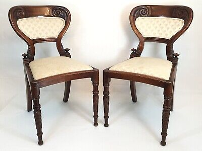 $349.99 • Buy ANTIQUE WOOD SPINDLE CHAIR Pair OLD WOODEN FURNITURE HAND CARVED ART CHAIRS VTG