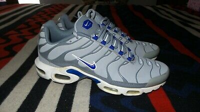 Nike Air Max Plus TN Wolf Grey Size 10 Men Pre Owned 604133-094 Rare • 79.95$