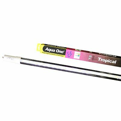 AU78.79 • Buy Aqua One Tropical RGB Aquarium Fish Tank LED Tube 18w T8 120cm 48 Inch 4 Foot